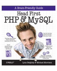 Head First PHP & MySQL – by Lynn Beighley & Michael Morrison