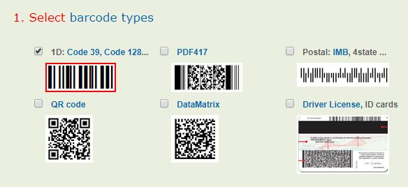 Source code Android Barcode Demo